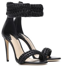 Altuzarra Ghianda Leather Sandals Black