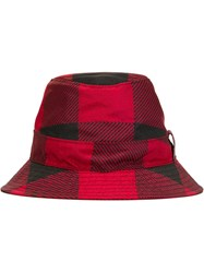 Dsquared2 Checked Summer Hat Black