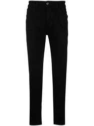 Low Brand Slim Fit Trousers Black