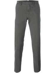 Eleventy Tapered Trousers Grey