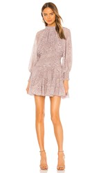 Cleobella Emma Short Dress In Grey. Snake