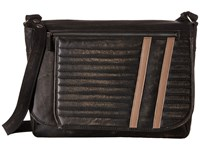 Scully Track Messenger Bag Black Messenger Bags