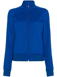 Givenchy Webbing Zipped Track Jacket Polyester Cotton Blue