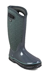 Bogs Women's Classic Triangles Waterproof Subzero Insulated Boot Dark Grey Multi