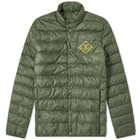 Barbour Sergeant Quilted Jacket Green