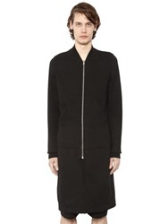 Rick Owens Drkshdw Long Zip Up Sweatshirt