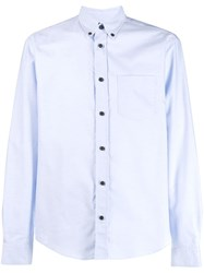 Acne Studios Classic Tailored Shirt Blue