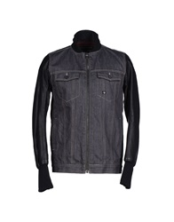 Duck And Cover Denim Outerwear Steel Grey