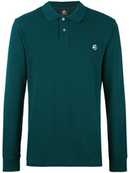 Paul Smith Ps By Longsleeved Polo Shirt Green