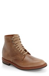 Allen Edmonds Men's 'Higgins Hill' Plain Toe Boot Natural Leather