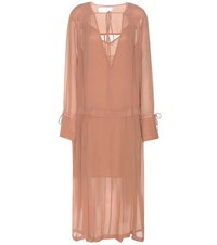See By Chloe Mytherersa.Com Exclusive Crepe Dress Pink