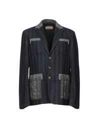 Galliano Blazers Slate Blue