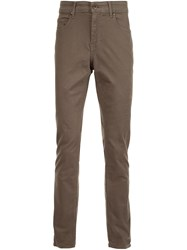 Paige Slim Fit Trousers Green