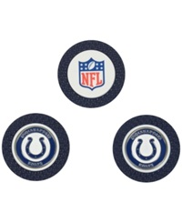 Team Golf Indianapolis Colts 3 Pack Poker Chip Golf Markers Blue