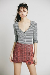 Free People Tribal Print Skort