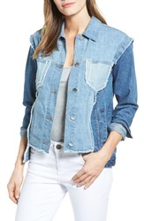 Rd Style Women's Patchwork Denim Jacket