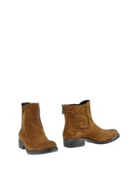 Luca Valentini Ankle Boots Brown