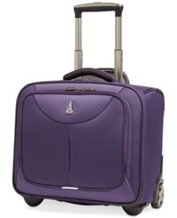 Travelpro Walkabout 2 Rolling Tote Only At Macy's Purple