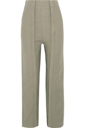 Chloe Cotton Twill Pants Sand