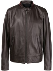 Bally Classic Long Sleeved Jacket Brown