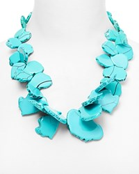 Baublebar Seaglass Bib Necklace 22 Turquoise
