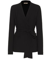 Bottega Veneta Belted Jacket Black
