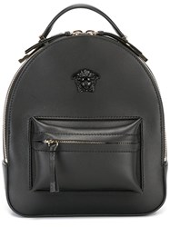Versace Mini Medusa Palazzo Backpack Black