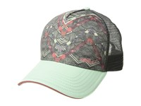 Prana La Viva Trucker Hat Icy Green Caribou Caps