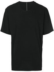 Attachment Oversized T Shirt Cotton Black