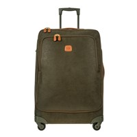 Bric's Life Carry On Trolley Suitcase Olive Tan 74Cm