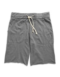 Alternative Apparel Victory Burnout French Terry Shorts Nickel