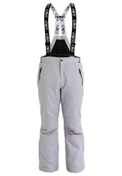 Cmp F.Lli Campagnolo Waterproof Trousers Argento Melange Mottled Light Grey