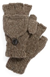 Nirvanna Designs Convertible Fingerless Gloves Black