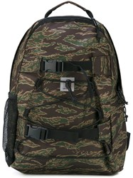 Carhartt Camouflage Backpack Men Polyester One Size Green