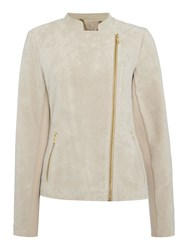Episode Asymmetric Moto Jacket Latte