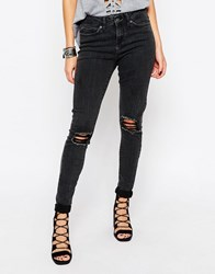 Noisy May Lucy Slim Jeans 32 Black