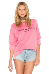 Wildfox Couture Chips And Salsa Top Coral