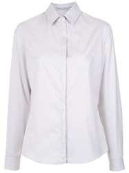 Martha Medeiros Lace Detail Shirt Cotton