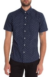 7 Diamonds Men's Overflow Woven Shirt