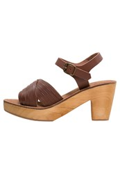 Warehouse Clogs Tan Brown