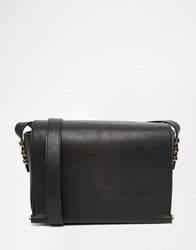 Warehouse Clean Cross Body Bag Bk1 Black 1