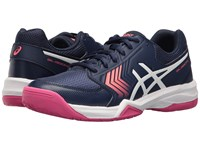Asics Gel Dedicate 5 Indigo Blue White Diva Pink Women's Tennis Shoes