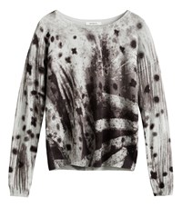 Sandwich Abstract Print Jumper Grey