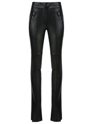 Gloria Coelho High Waisted Trousers Black