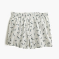 J.Crew Happy Dog Boxer White