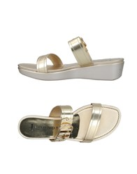 Jeannot Sandals Platinum