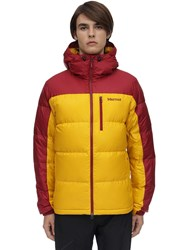 Marmot Guides Hooded Down Jacket Yellow