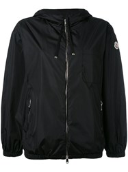 Moncler Lightweight Hooded Jacket Black