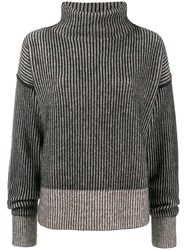 Sportmax Turtle Neck Jumper Black