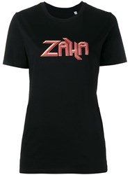 Tank Zaha T Shirt Black